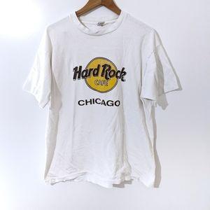 Vintage Single Stitch Hard Rock Chicago T-shirt
